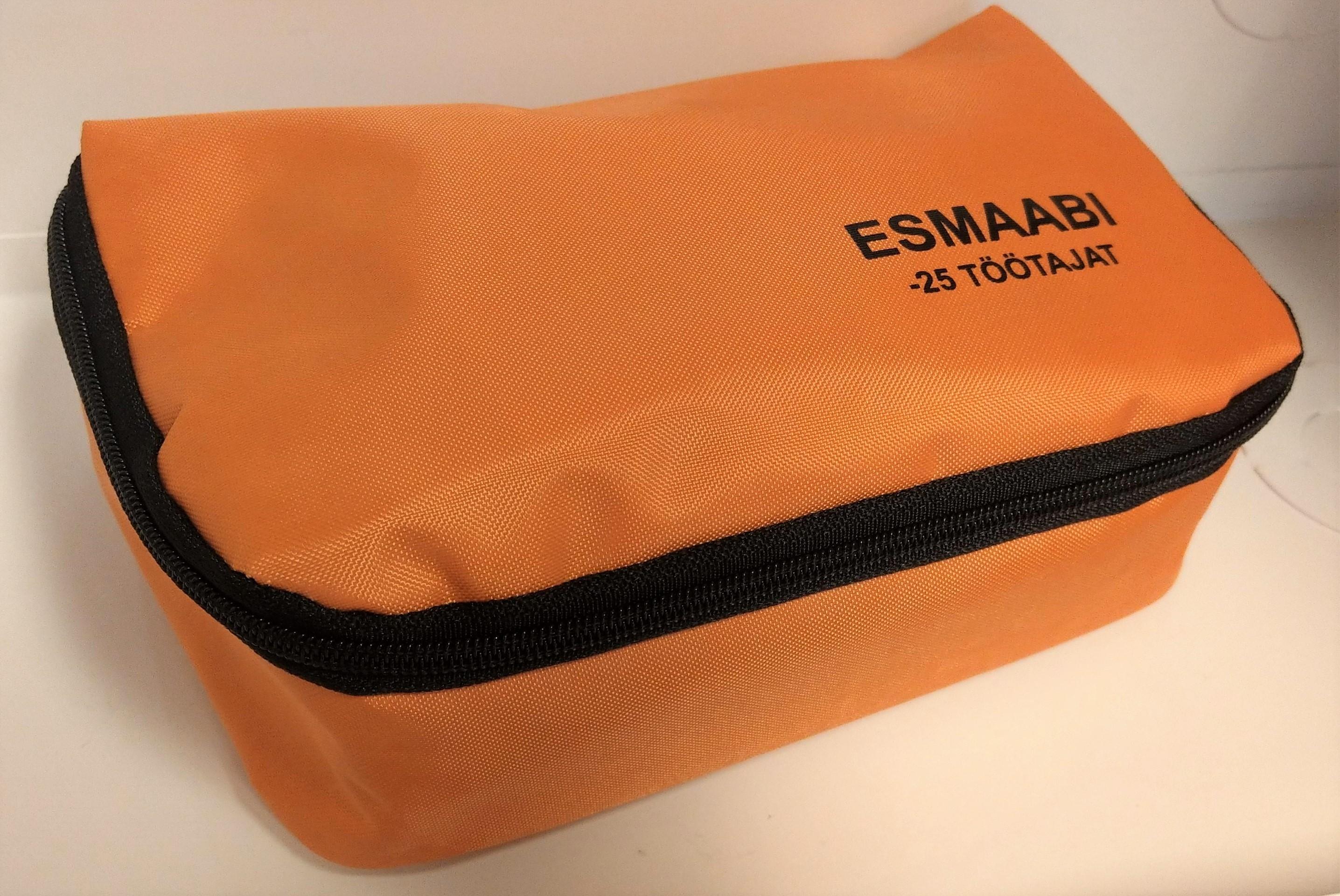 18d199c3417 Esmaabi komplekt ettevõttele kuni 25 in. ESTMED - Tuleohutus24.ee ...